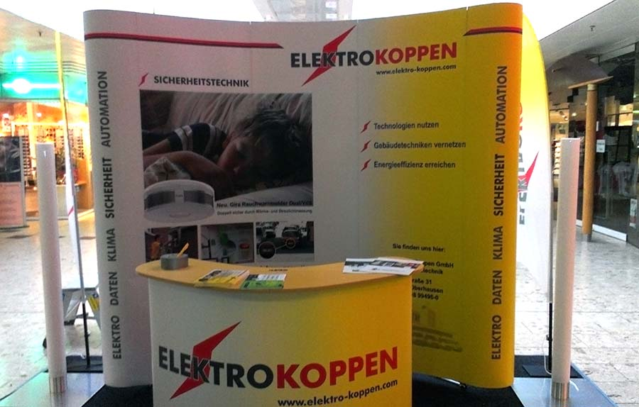 Unser Messestand im Bero Center 2013